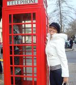 <p>Happy snap ... Ricki-Lee holidaying in London.</p>