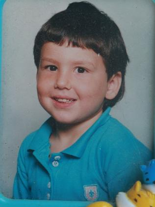 Darius Boyd as a 4-year-old