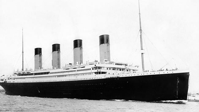 The Titanic sunk 105 years ago this weekend on April 15.