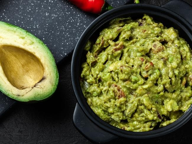 Avocado is a healthy fat, but it's a fat. Don't eat a whole avo in one sitting. Picture: iStock