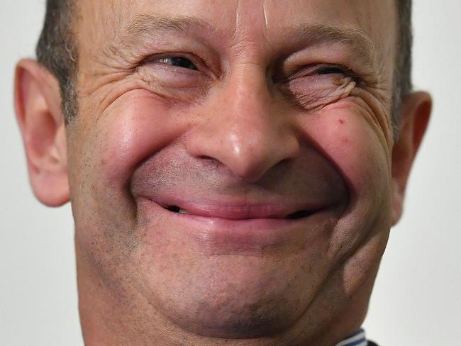 "UK Independence Party leader Henry Bolton has been fired by UKIP despite feeling ""quietly optimistic"" about his future with the party. Picture: AFP"