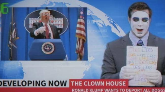 Snoop Dogg's weird clown attack on Trump has caught social media's attention. Picture: YouTube