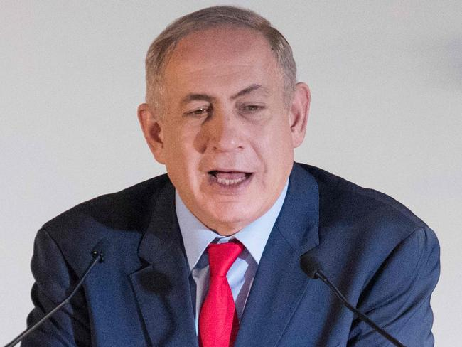 Israeli Prime Minister Benjamin Netanyahu hailed the victory of Donald Trump and wants him to fulfil campaign promises to overturn decade of US foreign policy and recognise Jerusalem as Israel's capital and to move the US embassy from Tel Aviv. Picture: AFP / Jack Guez