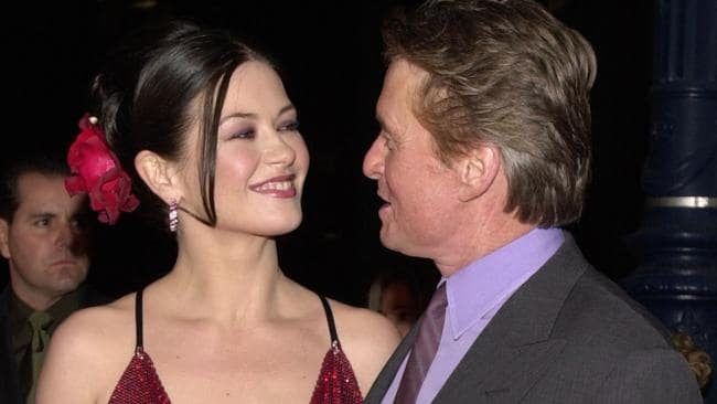 Happier times: Zeta-Jones and Douglas at a film premiere in 2000. Photo by Chris Weeks/Liaison