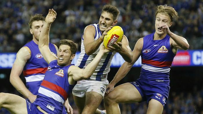 AFL: Round 6 North Melbourne v Western Bulldogs