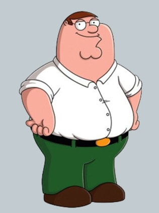 Family Guy's Peter Griffin.