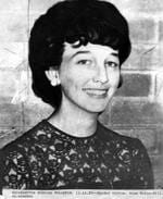"Mima McKim-Hill, 21, disappeared on a demonstration trip from Rockhampton for the Capricorn Regional Electricity Board on March 9, 1967. Her body was found near the Biloela-Calliope highway. Police checked more than 1350 cars without finding three """"bo"