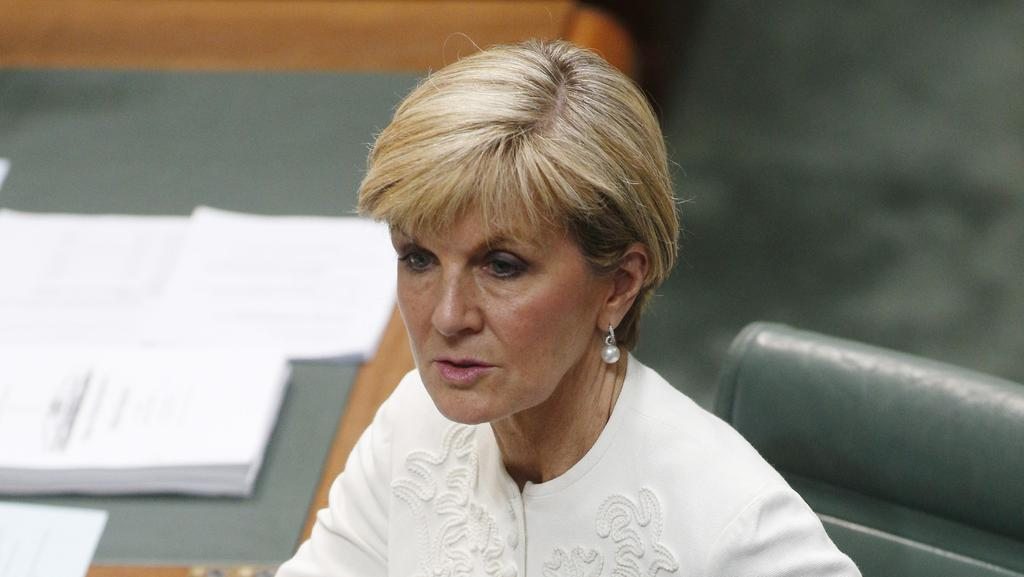 "An ALP-commissioned focus group, found ­participants described Ms Bishop as ""intelligent"", ""smart"" and ""strong"". Picture Gary Ramage"