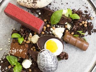 Mr Miyagi limited edition chocolate dessert. Picture: Supplied