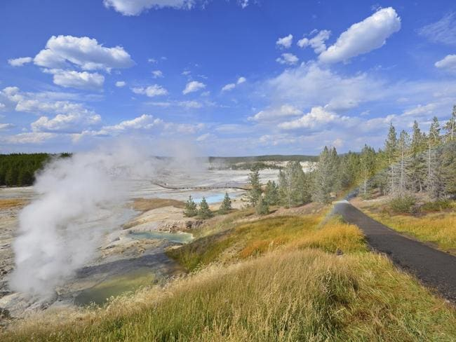 Norris Geyser Basin at Yellowstone National Park, Wyoming. Picture: iStock