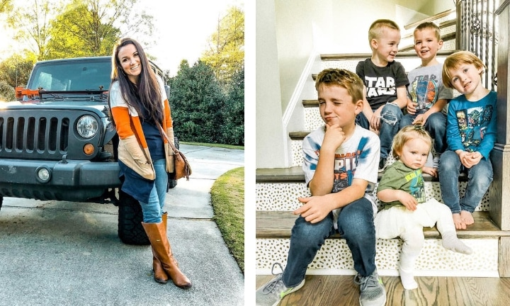 Blogger worried her son may notice he gets less 'likes' than his siblings