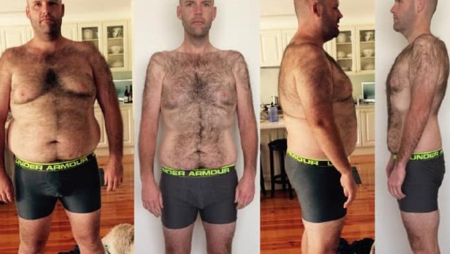 Andrew Taylor's body transformed after 12 months of eating only potatoes.