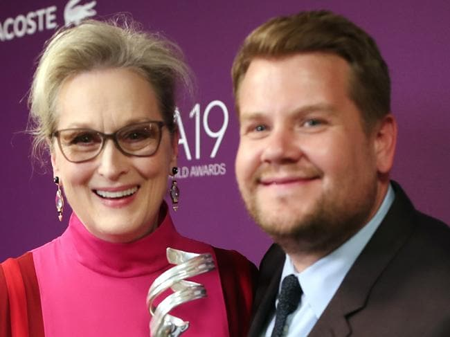 How Meryl humiliated James Corden