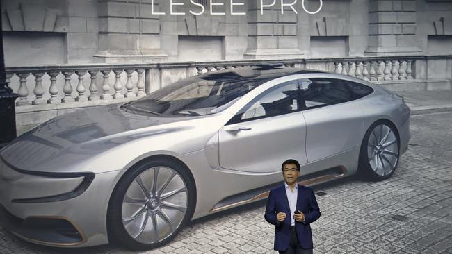 LeEco co-founder Lei Ding. Picture: Jeff Chiu/AP