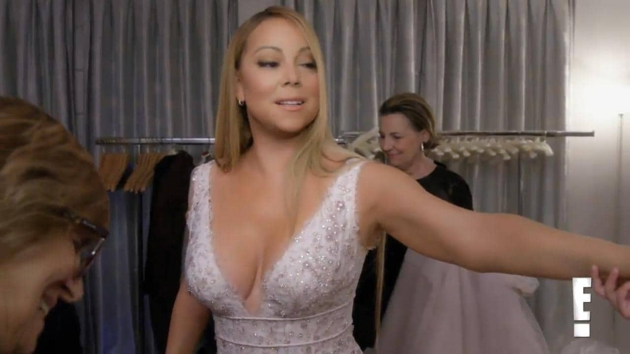 Sneak Peek Mariah Careys Last Wedding Dress Fitting Before James Packer Split057