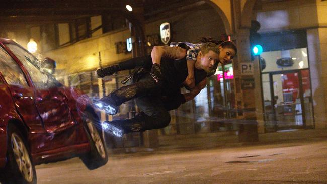 Jupiter Ascending stars Channing Tatum as a 'half-wolf, half-albino'. Hmm. Picture: Supplied