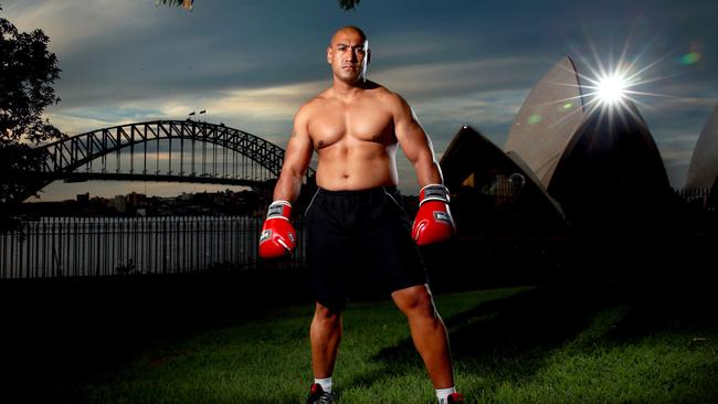 Alex Leapai in Sydney.