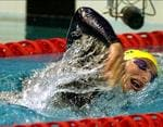 "<p>Star ... before retiring in 2006 aged 24, Ian Thorpe won five Olympic gold medals â€"" the greatest total of any Australian â€"" and became the youngest world champion when he won the 400m freestyle title in Perth at just 15 / AP</p>"