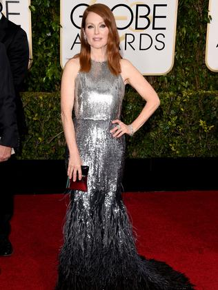 Sheer chic ... actress Julianne Moore. Picture: Getty Images