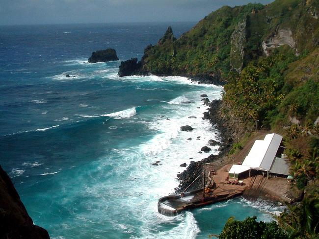 The tight population of Pitcairn Islands.
