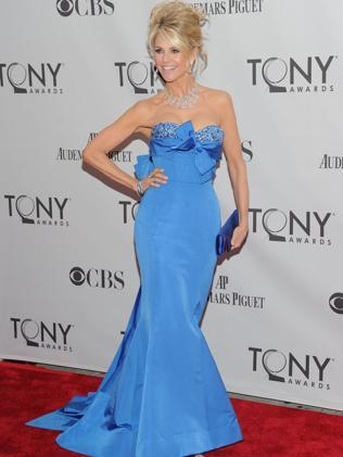 Christie Brinkley attends the Tony Awards in New York in 2011. Picture: Getty