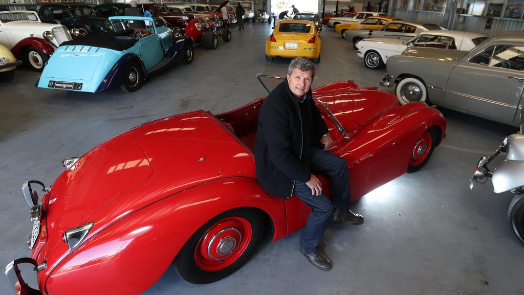Former racing driver Clem Smith\'s Huge collection of classic cars to ...
