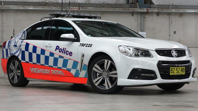 Brake upgrade ... in late 2015 Holden began fitting bigger brakes (same as US police cars) to Commodore SS Series II police cars here. (Series I model pictured). Picture: Supplied.