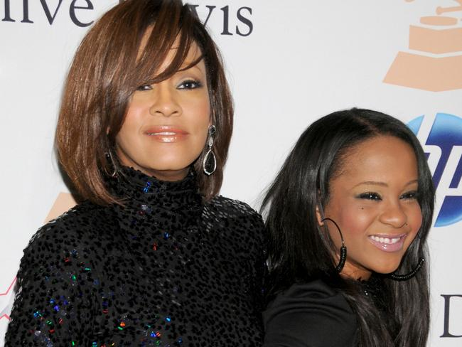 Whitney Houston and her daughter Bobbi Kristina Brown both tragically died in a similar situation, within 15 months. Picture: Gregg DeGuire/FilmMagic