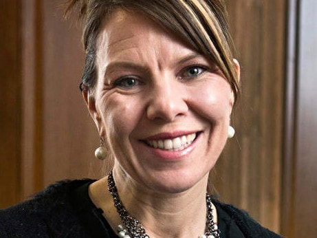 Jennifer Riordan died after the engine blew on the Southwest Airlines plane, cracking the window next to her. Picture: Marla Brose/The Albuquerque Journal via AP