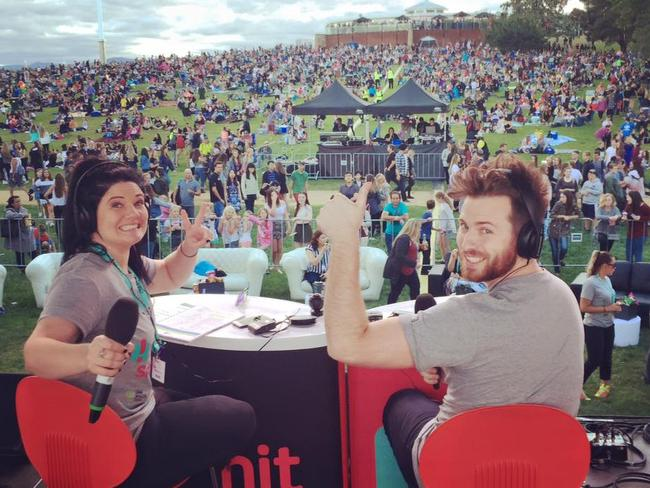 Ryan Jon presents Canberra's Hit 104.7FM breakfast show with Tanya Hennessy.