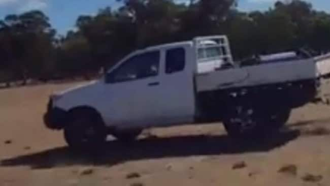 Drew Murray is believed to be driving a white single cab 2008 Toyota HiLux ute with WA registration 1CUR 577. Picture: Victoria Police