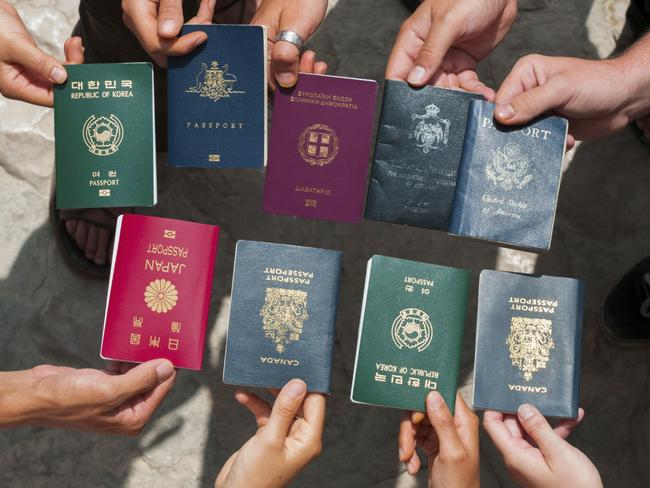 Not all passports are created equal. Picture: iStock