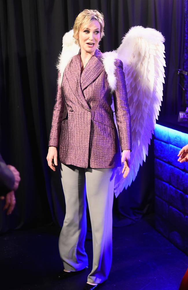 Host Jane Lynch attends the People's Choice Awards 2016 . Picture: Getty