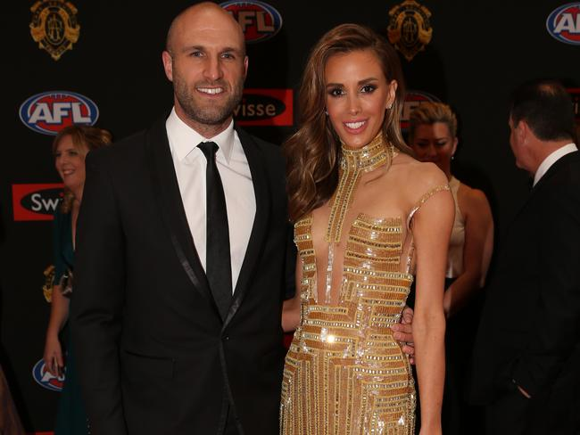 Twigley wore something a little less racy at the 2015 Brownlow.