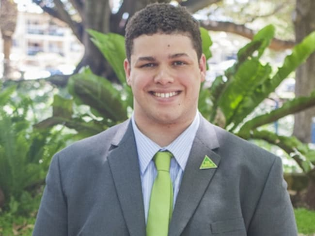 Jordon Steele-John is a disability advocate and university student who comes from a Labor-voting family.