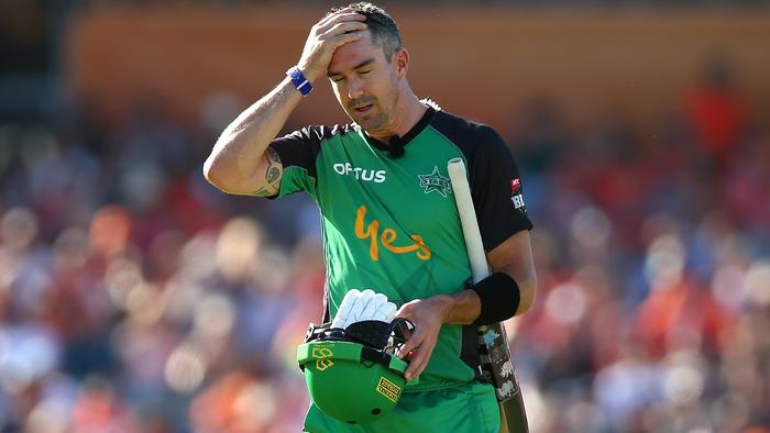 It was a tough day at the office for KP and the Stars.