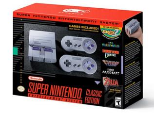 Supplied Editorial Nintendo SNES Classic