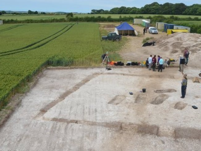 Significant ... more than 700 Roman villas have been found in Britain but before now no-one has ever found their occupants. Picture: Bournemouth University