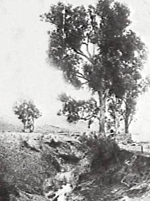 Historical pictures of the creek where Fisher's Ghost was seen.