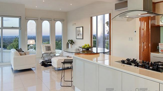 THE home has views across Adelaide. Picture: realestate.com.au