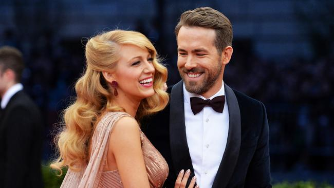 Blake Lively and her husband Ryan Reynolds attend the 2014 Met Gala in New York City. Photo: Mike Coppola.