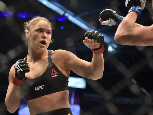 Rousey is coming off two consecutive UFC defeats.