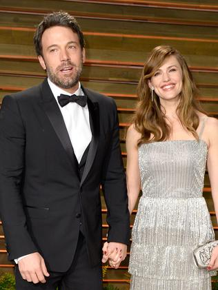 Ben Affleck and Jennifer Garner split last year. Picture: Pascal Le Segretain/Getty Images