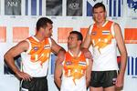<p><span>North Melbourne 2000</span><br /> <span>Carlton</span> <span>wasn't the only team to sell its soul for marketing money. The Kangaroos turned out in this orange roughie after to help promote telecommunications company, Orange.</span></p>