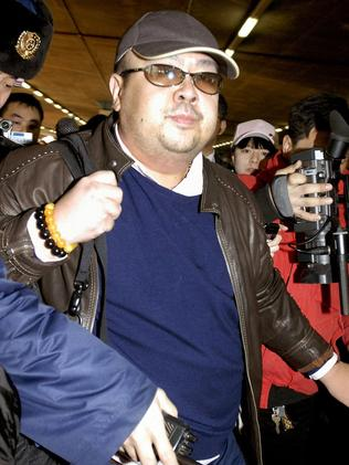 Kim Jong-Il's eldest son, Kim Jong-Nam in 2007. He was assassinated in Malaysia in 2017. Picture: AFP.