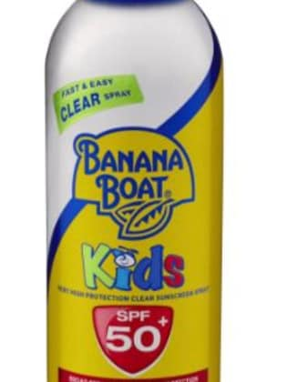 One of the sunscreens tested. Picture: Supplied/Banana Boat website