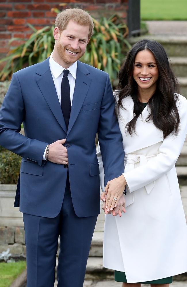 Since their engagement announcement, Meghan Markle's coat has been flying off the shelves. Picture: Chris Jackson.