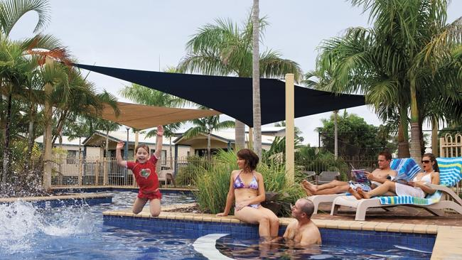 Fraser Lodge Holiday Park, Hervey Bay, Queensland.