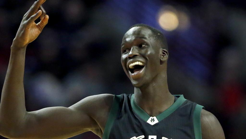 Milwaukee Bucks forward Thon Maker.