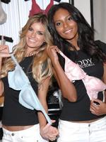 <p>Models Marisa Miller and Emanuela de Paula help Victoria's Secret celebrate the 10 year anniversary of 'The Body By Victoria Collection' in New York.</p>